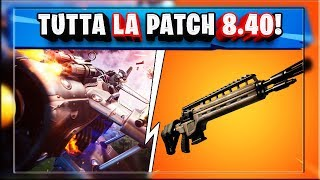 ALL PATCH NOTES 8.40 FORTNITE! CONFIRMED AEREI AND REGAL! (season 8 fortnite)