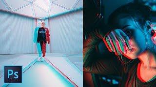 CÓMO HICE ESTA FOTO / Efecto Glitch 3D