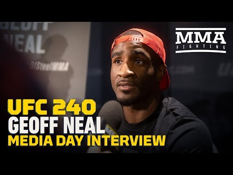 UFC 240: Geoff Neal Hopes To Quit Job As Restaurant Server Soon - MMA Fighting