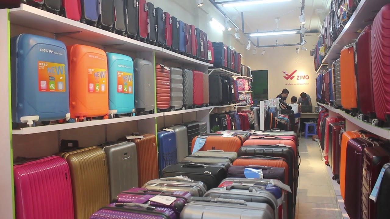 Zimo shop hệ thông phân phối vali kéo,balo hàng hiệu-địa chi mua vali uy tín trên toàn Quốc