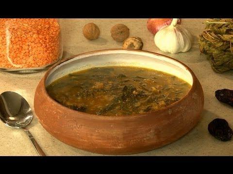 Суп из конского щавеля (авелук)