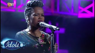 Top 9 Reveal: Yanga - 'Before You Walk Out My Life'' – Idols SA | Mzansi Magic