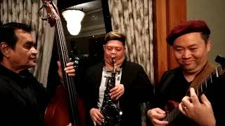 Jingle Bells Rock - Dominic Cai, Daniel Purnomo, Eddie Jansen - Jazz Trio for an Event
