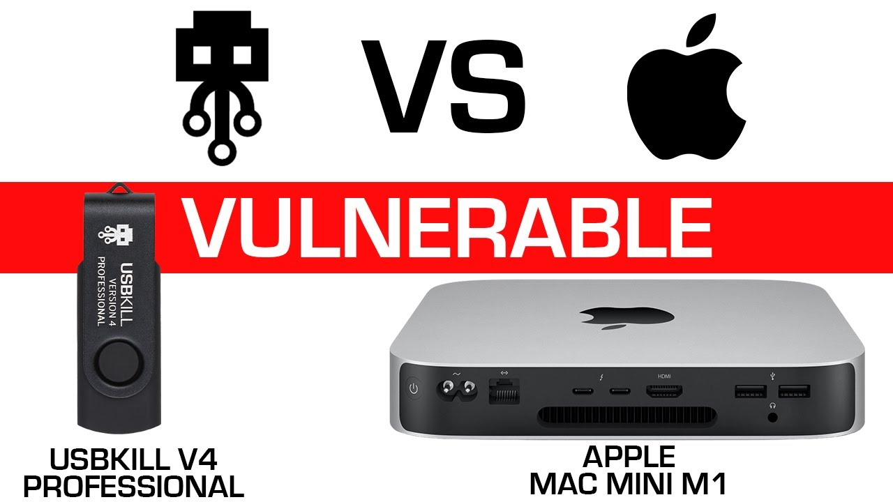 USBKill V4 professional VS Apple mac mini M1