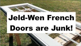 Jeld-Wen French Doors aŗe Junk!! Here is How I Fixed Mine.