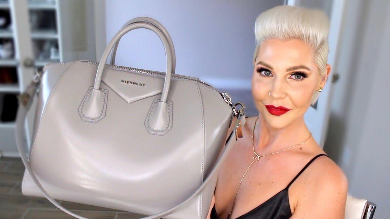 8d576ae81c03 Givenchy Antigona Handbag Review - YouTube