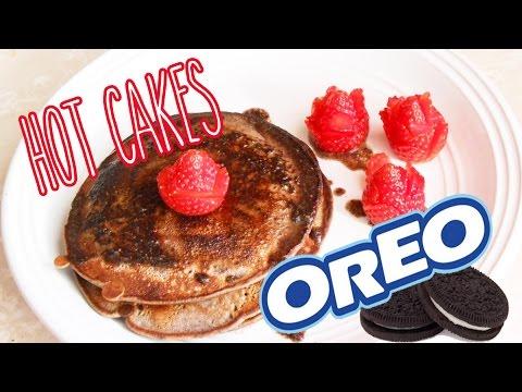 Como hacer Hot Cakes de Oreo