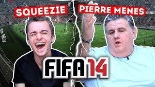 Squeezie VS Pierre Ménès - FIFA 14