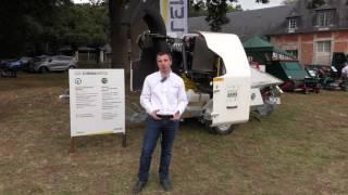 SAELEN : Présentation du Broyeur GS COBRA 90 PGS avec moteur Kubota WG 3800 GL essence/gaz