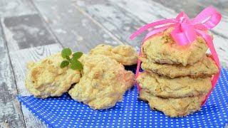 Ciasteczka owsiane z kokosem i orzechami - Jak zrobić - Smakowite Dania