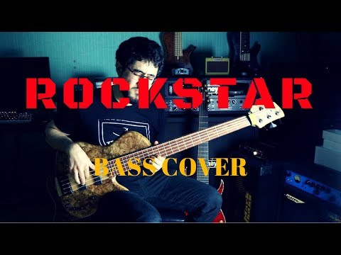 POST MALONE - ROCKSTAR - BASS COVER