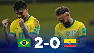 Eliminatorias Sudamericanas   Brasil vs Ecuador   Fecha 7