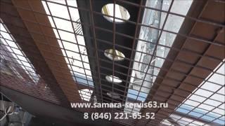 Грузовой подъемник в металлической шахте ООО