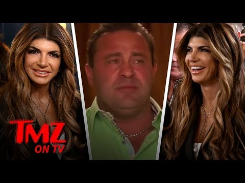 Teresa Giudice Smiles Through Pain Hours After Joe's Taken Into ICE Custody   TMZ TV