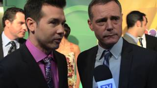 Chicago PD - Jason Beghe and Jon Seda - NBC Upfronts 2013