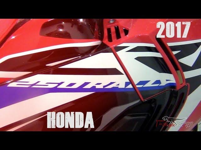 видео honda crf250l