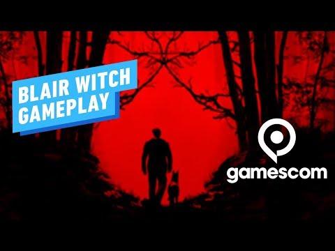 22 минуты геймплея Blair Witch с Gamescom