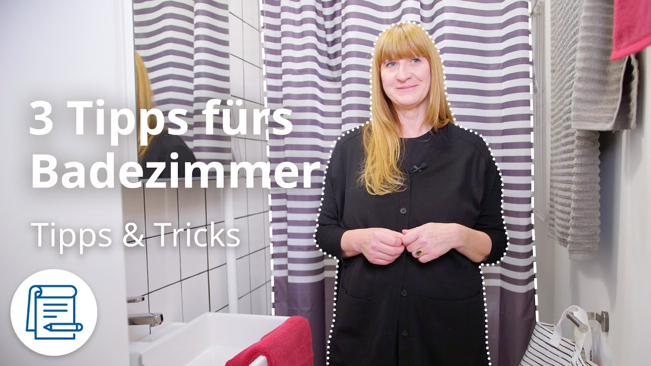 Badezimmer dekorieren | IKEA Tipps & Tricks