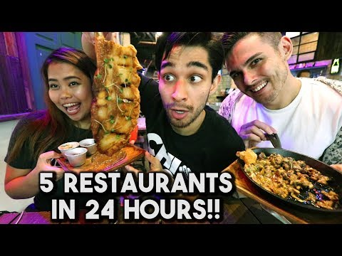 Most INTENSE Filipino Food Trip! (5 Restaurants)