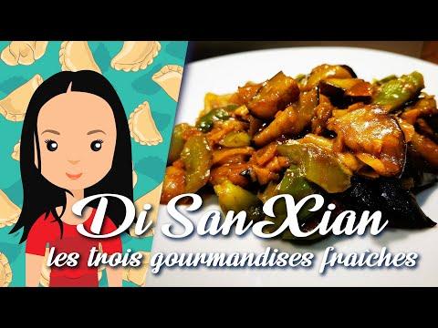 recette-21:-di-san-xian- -poivron-vert,-aubergine-et-pomme-de-terre- -recettes-cuisines-chinoises
