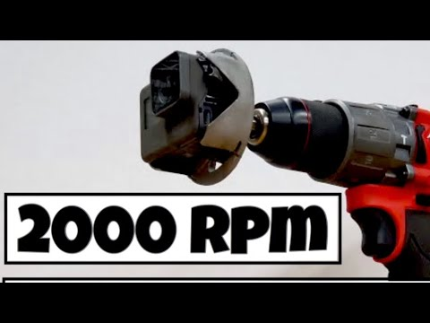 HOW TO SPIN GOPRO CAMERA 2000 RPM  ( 2020 )