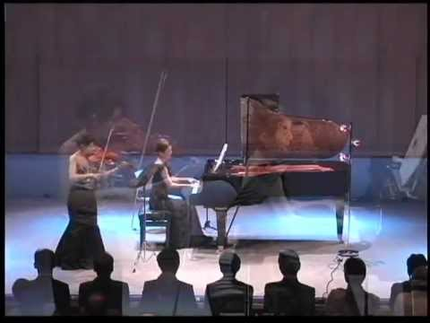 須藤千晴(ピアノ)、寺下真理子(バイオリン)演奏会より