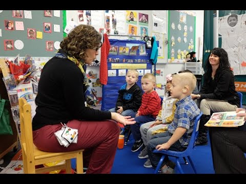 Preschool Deaf And Hard Of Hearing Class At Seven Oaks Elementary