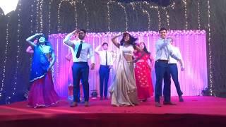Jasleen Royal, Harshdeep Kaur, Siddharth Mahadevan - Nachdene Saare   Sangeet Choreography