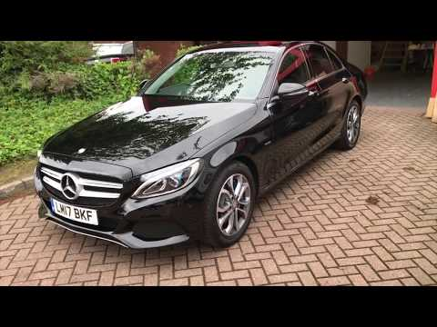 Mercedes C350e Ceramic Coating Paint Protection