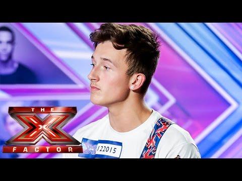 Jack Walton sings Mr Probz Waves | Room Auditions Week 2 | The X Factor UK 2014