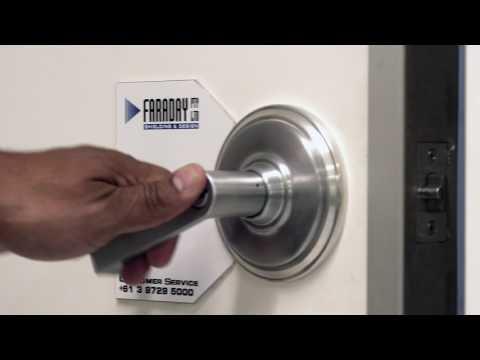 Faraday MRI Door