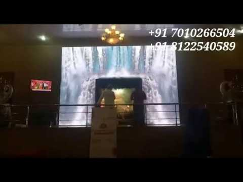3D LED Arch Waterfalls Gate Entry Wedding Reception Event Decoration India +91 8122540589 (WA)