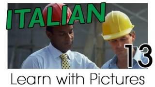 Learn Italian - Italian Job Vocabulary