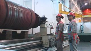 Machining Slip Ring (ABB ROTOR)