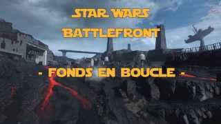 Star Wars Battlefront - Video Loop wallpaper animated fond d