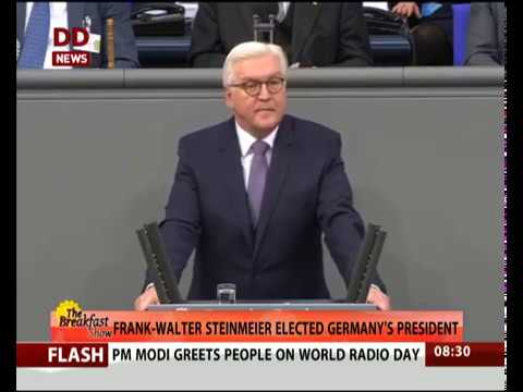 Frank-Walter Steinmeier elected Germany's President