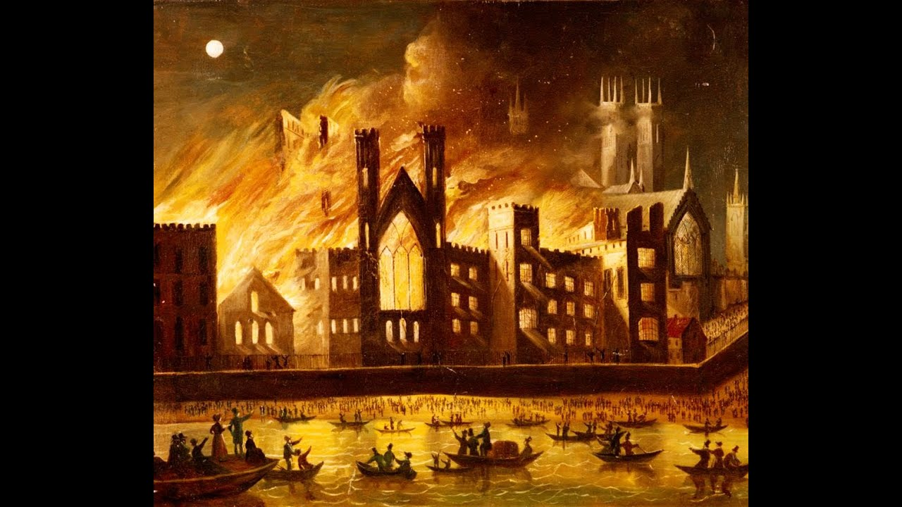 Buckingham Palace Facts The Burning Of The Palace Of Westminster The Great