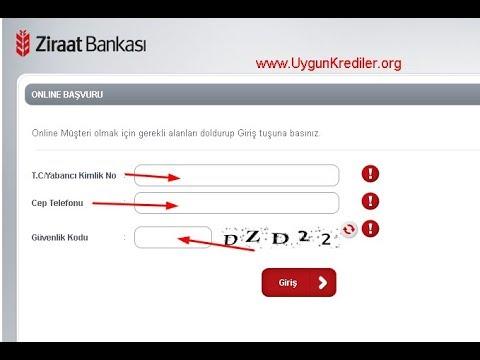 ziraat bankası internet bankacılığı açma