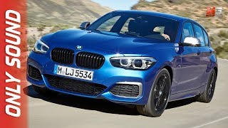 New BMW serie 1 2017 - first test drive only sound