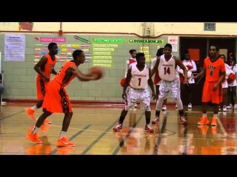 Coles basket City/Edmondson boys basketball 1/20/15
