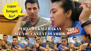 (KINDA ASIAN TASTE) ALL YOU CAN EAT DI AMERIKA MAKAN SAMPE KENYANG TANPA BATASAN WAKTU!!