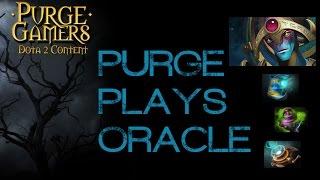 Dota 2 Purge plays Oracle