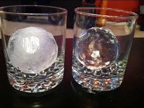 Как сделать прозрачный лёд. Получилось