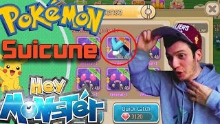 Asi Capture a Suicune!!! - Hey Monster / Pokemon Remake