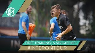 FIRST DAY OF TRAINING IN SINGAPORE | #INTERONTOUR | INTER PRE-SEASON 2019/20