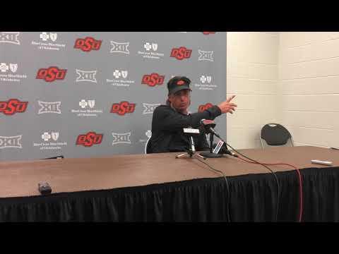 Oklahoma State football: Mike Gundy postgame, Kansas State 10/13/18