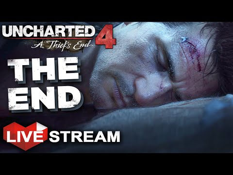 Uncharted 4: A Thief's End | ENDING | Gameplay Live Stream