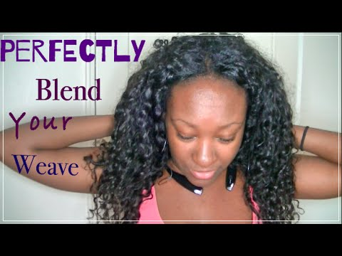 Blend relaxed hair with curly weave youtube blend relaxed hair with curly weave pmusecretfo Images