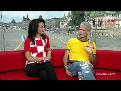 Lucy Zelic gets emotional discussing Croatia