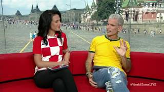 Lucy Zelic gets emotional discussing Croatia's historic World Cup final appearance